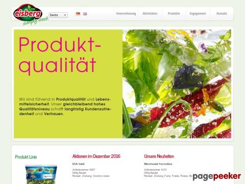 Eisberg - frische und schmackhafte Convenience Salate