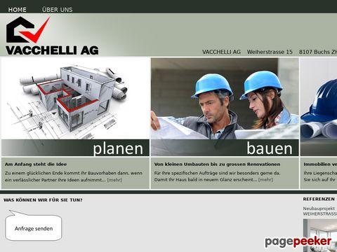 VACCHELLI AG - planen, bauen, verwalten