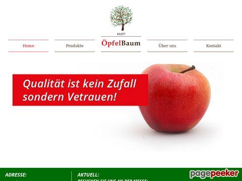 Haupt Öpfelbaum - Qualitätsprodukte vom Familienbetrieb