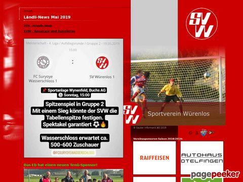 Sportverein Würenlos (SV Würenlos)