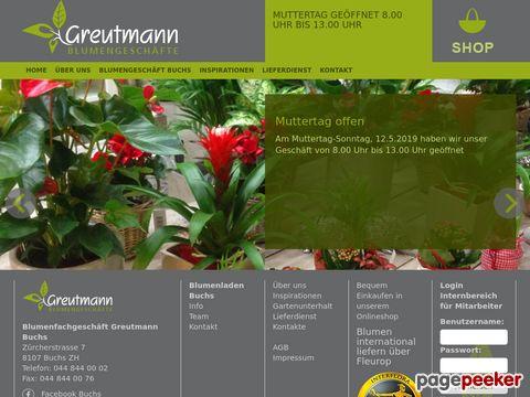Greutmann Blumen und Garten - Shop