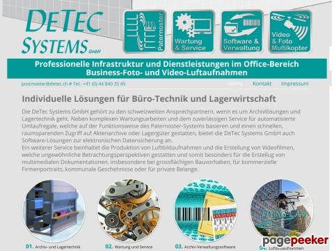 DeTeC Systems - Logistikdienstleistungen - Logistkunternehmen i der Region Furttal / ZH