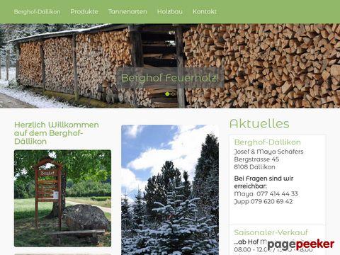 Schäfers Holzbau und Christbäume