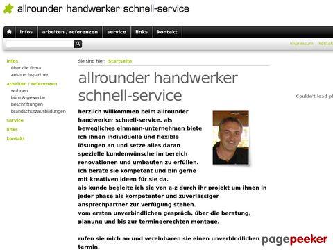 allrounder handwerker schnell-service
