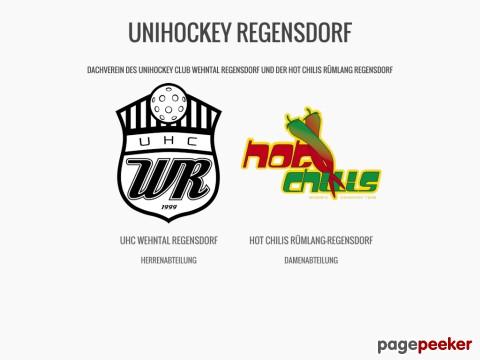 Unihockey Regensdorf - Dachverein der Hot Chilis Rümlang Regensdorf und des UHC Wehntal Regensdorf