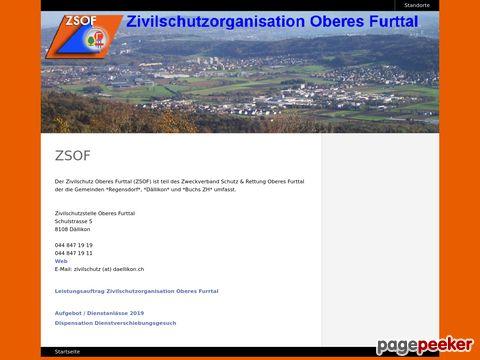 Zivilschutzes Oberes Furttal (ZSOF)