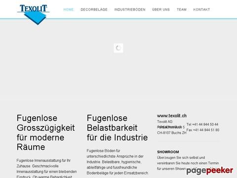 Texolit AG | Fugenlose und mineralische Böden vom Profi