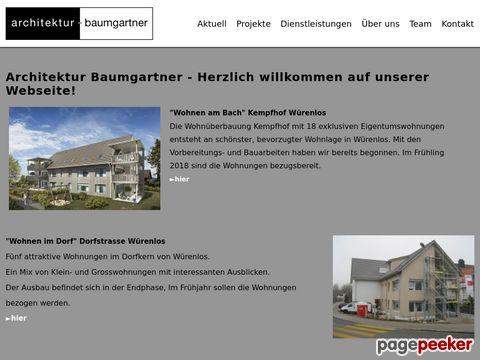 architektur - baumgartner - Architekt | Würenlos, Baden, Aargau und Zürich
