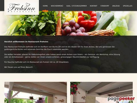 Restaurant Frohsinn (Buchs ZH)