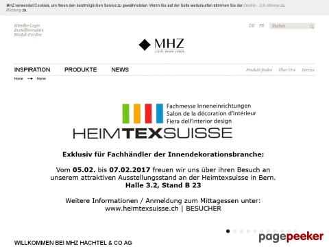 MHZ Hachtel + Co AG
