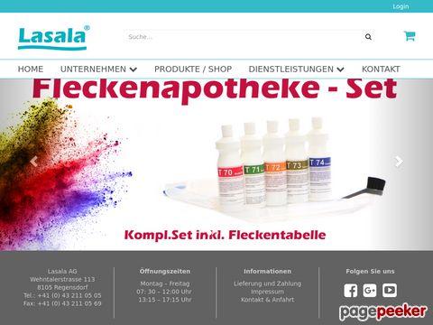 lasala.ch - Ihr zuverlässiger Partner für Reinigungs- und Hygieneartikel