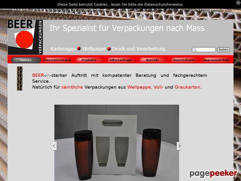 Beer Verpackungen AG - Ihr Spezialist für massgeschneiderte Verpackungen