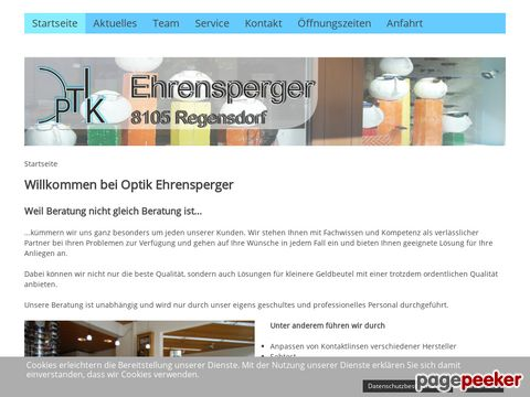 Optik Ehrensperger - Ihr Optiker in Regensdorf, Furttal