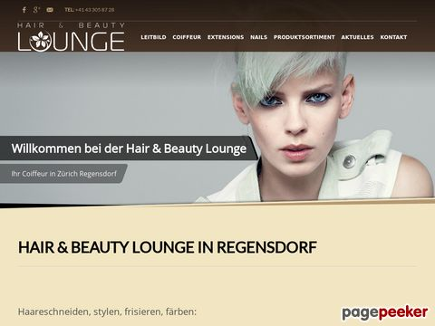 Hair & Beauty Lounge - Ihr Coiffeur, Nagelstudio und Massage Salon (Regensdorf)