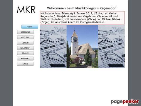 Musikkollegium Regensdorf