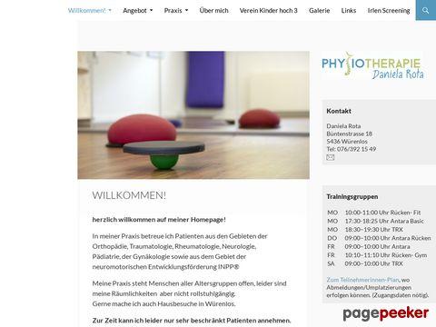 Physiotherapie | Daniela Rota, Würenlos