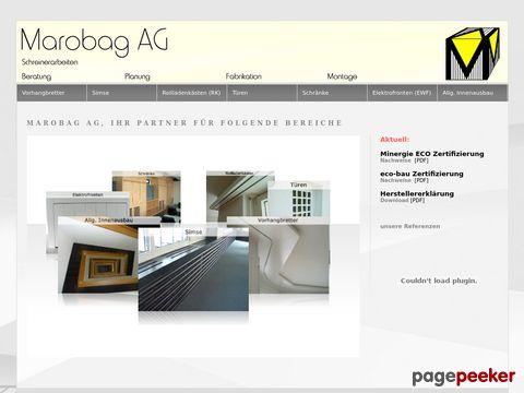 Marobag AG - Schreinerarbeiten