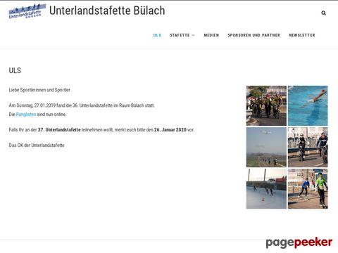 Unterlandstafette - breitensportanlass im Zürcher-Unterland