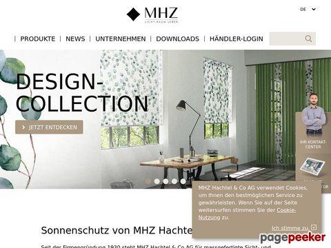 MHZ HACHTEL & CO AG - Die Spezialisten für individuellen Sonnenschutz