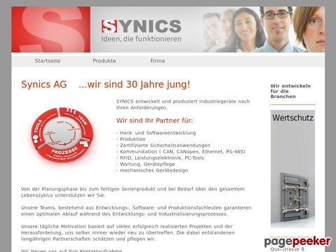 Synics AG - Hard- u. Softwareentwicklung