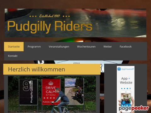 Motorradclub - Pudgilly Riders