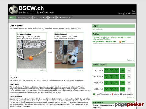 BSCW.ch - Ballsport Club Würenlos