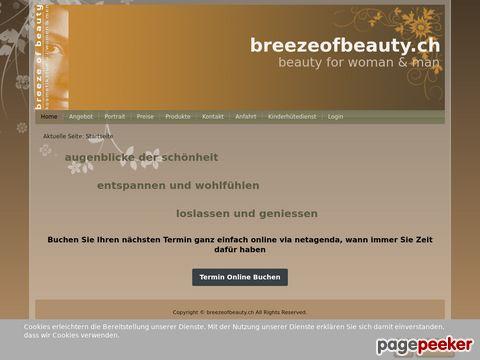 Breezeofbeauty.ch - Ihr Kosmetikstudio im Furttal