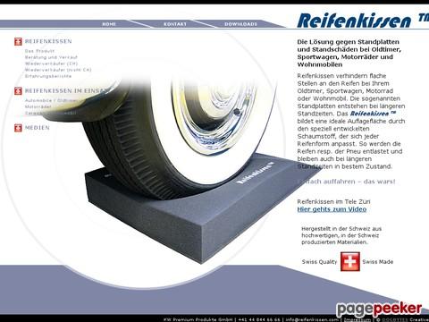 reifenkissen.ch - Reifenkissen sind die Lösung gegen Standplatten