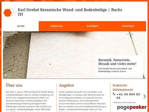 Karl Strebel Keramische Wand- und Bodenbeläge | Buchs ZH