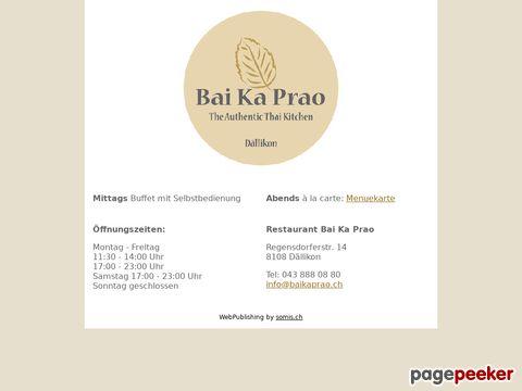 Restaurant Bai Ka Prao (Dällikon ZH)