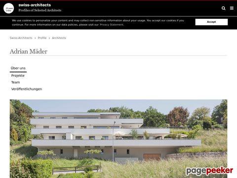 Architekturbüro - Mäder Adrian (Boppelsen ZH)