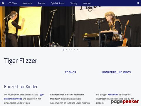 Tiger Flizzer: Mundart Kinderlieder, Songs für Kids
