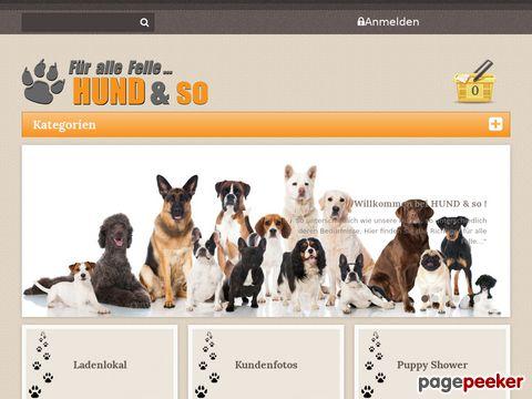 HUNDundso - Alles für Ihren Hund...