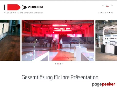 Cukulin - Messebau - Dekoschreinerei - Innenausbau