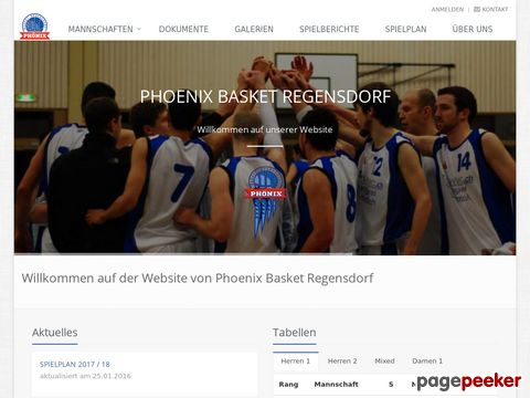 Phönix Basket Regensdorf - Der Basketballclub in der Region Furttal / ZH