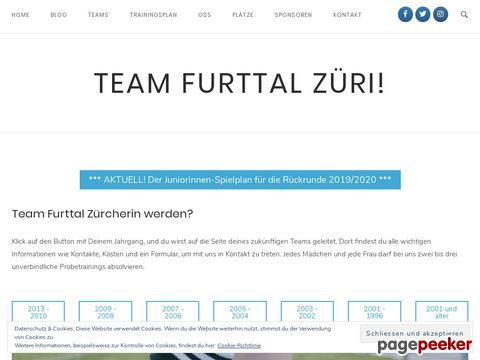 Team Furttal Züri - Mädchen- und Frauenfussball im Furttal...