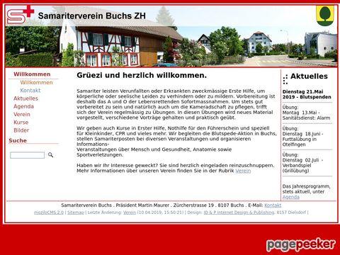 Samariterverein Buchs Zürich