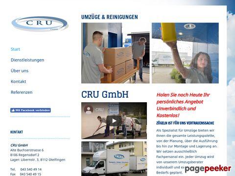 CRU Transporte, Umzüge, Reinigungen