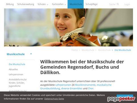 Musikschule Regensdorf - Die Musikschule