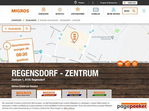 Migros Restaurant - Regensdorf - Zentrum