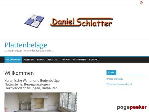 Daniel Schlatter - Plattenbeläge und mehr