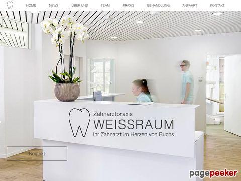 Zahnarztpraxis Weissraum - Ihr SSO Zahnarzt im Herzen von Buchs ZH