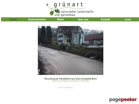 Grünart.ch - naturnaher Landschafts- und Gartenbau (Region Furttal / Zürich) - Gartenartbeiten