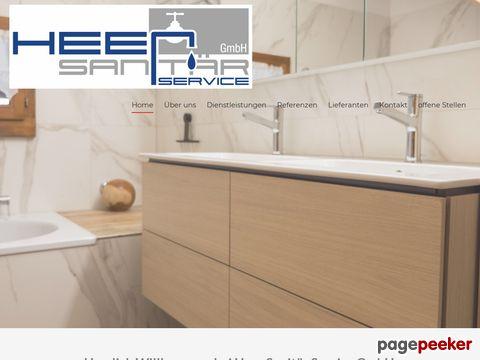 Heer Sanitär Service GmbH - Ihr kompetenter Partner rund um den Bereich Sanitär