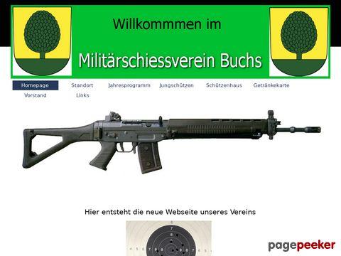 Militärschiessverein Buchs ZH