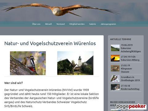 Natur- und Vogelschutzverein Würenlos