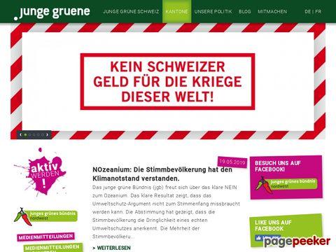 Junge Grüne Schweiz
