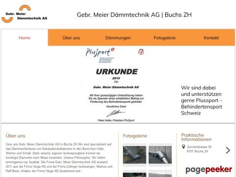 Gebr. Meier Dämmtechnik AG (Buchs ZH)