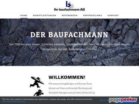 Bruno Bumbacher - Ihr Baufachmann AG