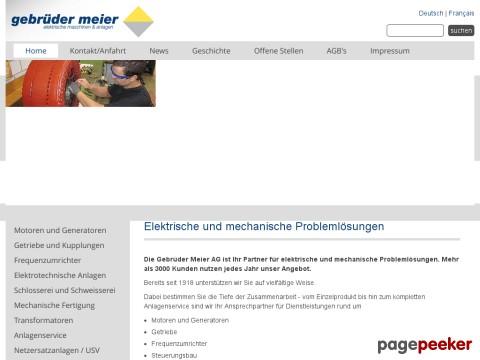 Gebrüder Meier AG